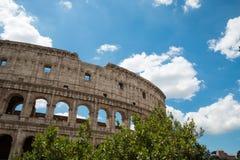 Старое Colosseum в Риме Италии Стоковые Изображения RF