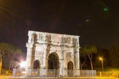 Старое colosseum в Риме, Италии Стоковое Фото
