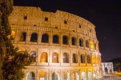 Старое colosseum в Риме, Италии Стоковое Изображение