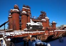 Старое Demidovsky Nizhny работы Tagil железные и стальные Теперь фабрик-музей названный после Kuibyshev Nizhny Tagil Россия Стоковые Фотографии RF