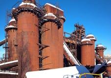 Старое Demidovsky Nizhny работы Tagil железные и стальные Теперь фабрик-музей названный после Kuibyshev Nizhny Tagil Россия Стоковая Фотография RF