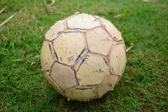 Старое footbal Стоковые Изображения RF