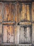Старое grunged деревянное окно Стоковые Фотографии RF