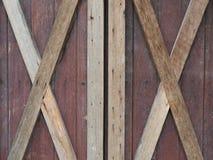 Старое grunged деревянное окно Стоковое Изображение