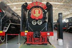 Старое maozedong локомотива пара стоковое фото rf