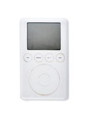 Старое mp3 плэйер 2003 поколения 15Gb классики 3-его Яблока iPod Стоковая Фотография RF