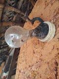 Старое mudwall с старым шариком Стоковые Фото
