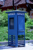 старое phonebooth Стоковые Изображения