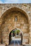 Старое Souk Byblos Jbeil Ливан стоковое изображение