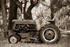 старое tractor2 Стоковое фото RF
