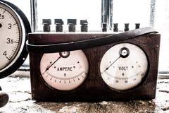 Старое Votimeter Стоковое Изображение