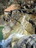 старое watermill Стоковые Изображения