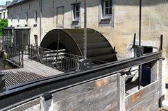 старое watermill Стоковые Фотографии RF
