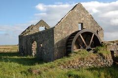 старое watermill Стоковая Фотография