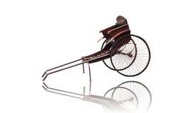 Старой винтажной китайской рикша вытягиванная рукой Стоковая Фотография RF