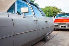 Старомодные автомобили которые использовали для того чтобы быть популярны раньше Стоковые Фото