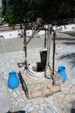 Старомодный фонтан Стоковые Изображения RF