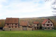 Старомодная ферма в Германии Стоковая Фотография RF