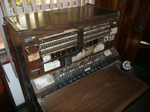 Старомодный коммутатор гостиницы Стоковое фото RF