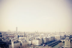 Старомодный Париж Франция стоковая фотография