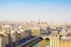 Старомодный Париж Франция стоковое фото rf