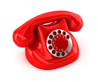 Старомодный телефон Стоковая Фотография