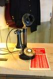 Старомодный телефон стоковые фотографии rf