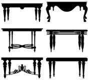 стародедовская античная классицистическая таблица Стоковая Фотография RF