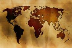 стародедовская карта Стоковые Изображения
