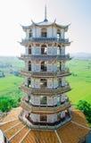 стародедовская китайская башня стоковое изображение