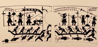 стародедовская китайская картина стоковое изображение