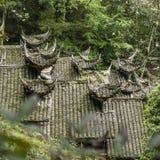 Стародедовская китайская крыша зодчества Стоковая Фотография RF