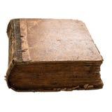 Стародедовская книга на белой предпосылке Стоковое фото RF