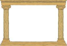 стародедовская колоннада иллюстрация вектора