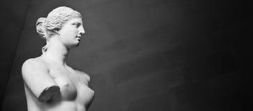 стародедовская красотка Афродиты бросила сделанную влюбленность руки богини экземпляра de чертежа греческую venus скульптуры гипс Стоковое Фото