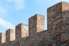 стародедовская крепостная стена Стоковые Изображения RF