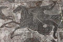 стародедовская мозаика римская Стоковые Изображения RF