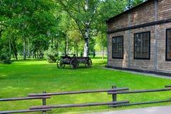 стародедовская дом Стоковые Изображения RF