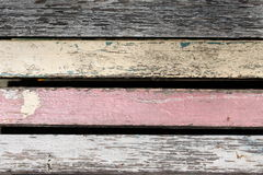 стародедовская предпосылка вносит старую древесину в журнал стены Стоковые Изображения