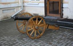 Стародедовская пушка Стоковое Фото