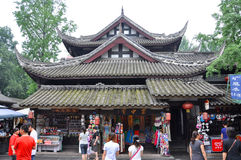 Стародедовская улица Jinli, Chengdu Стоковые Изображения