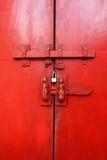 Стародедовская дверь Стоковые Фото