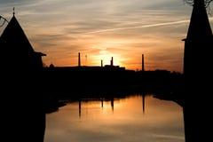 Стародедовские башни Стоковое Изображение RF