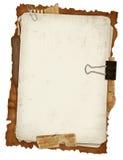 стародедовские бумаги конструкции Стоковое Изображение RF