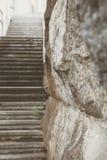 Стародедовские лестницы стоковое фото rf