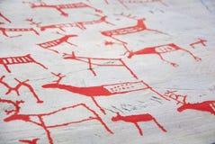 Стародедовские каменные carvings Стоковая Фотография RF