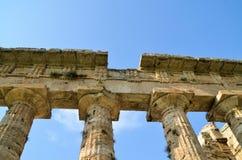стародедовские колонки греческие Стоковое Фото