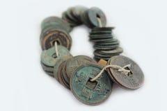 стародедовские монетки Стоковые Изображения RF