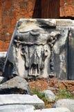 Стародедовские римские руины Стоковые Изображения RF