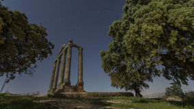 Стародедовские римские руины Стоковые Фотографии RF